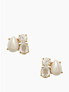 kate spade fragment pearl studs