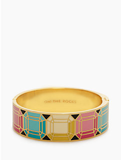 on the rocks hinged bangle