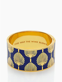 the way the wind blows hinged bangle