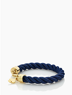 learn the ropes thin bracelet