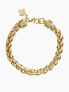 learn the ropes gold thin bracelet