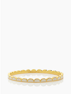 scallop thin bangle