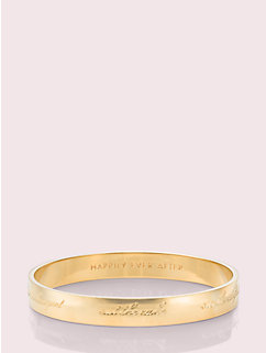 bride idiom bangle by kate spade new york