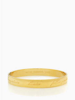 mom always said idiom bangle