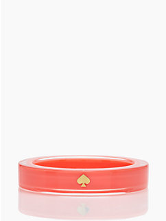 lacquered spade bangle