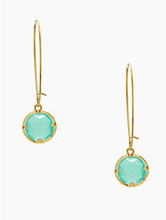 kate spade long drop earrings