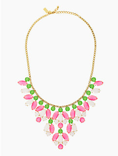 marquee statement necklace