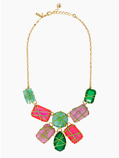 pop garden statement necklace