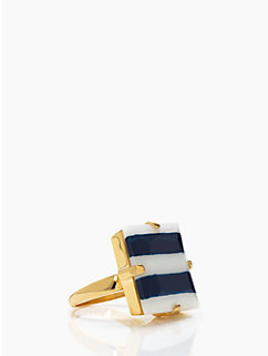 stripe setting ring