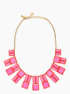 hot chip statement necklace