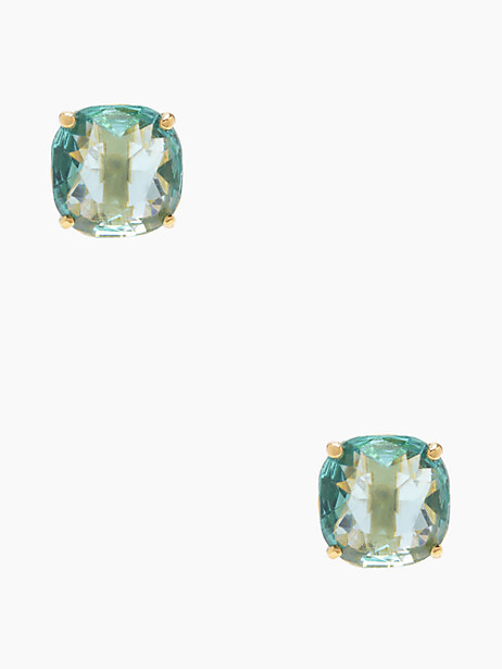 Kate Spade Small Square Studs, Blue