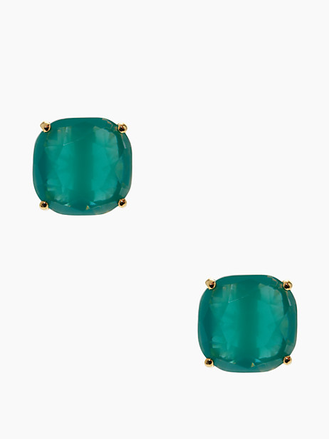 Kate Spade Small Square Studs, Turquoise