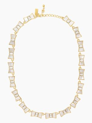 bow shoppe collar necklace