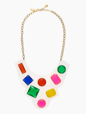 cameo jewels bib necklace