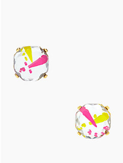 splatter jewels studs