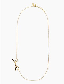 skinny mini asymmetrical necklace