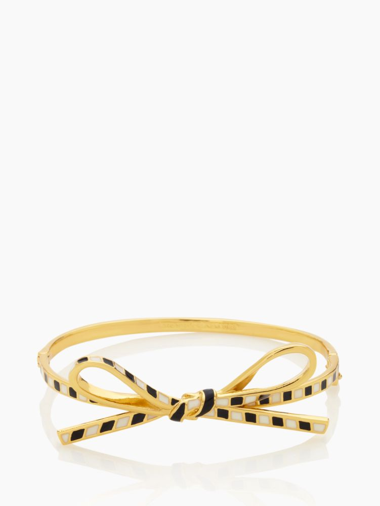 skinny mini bow bangle