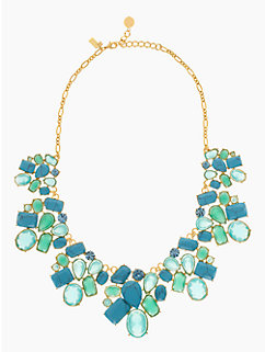 crystal fiesta cluster bib by kate spade new york