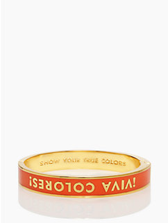 show your true colors hinged idiom bangle