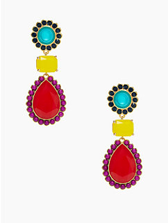 run around statement earring