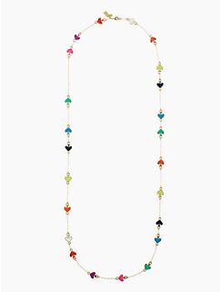spade to spade scatter necklace