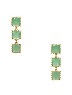 palm pearls linear earrings by kate spade new york