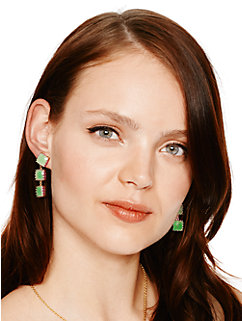 palm pearls linear earrings by kate spade new york