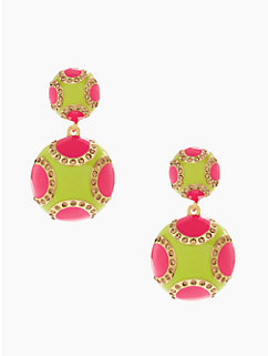 pinata park drop earrings