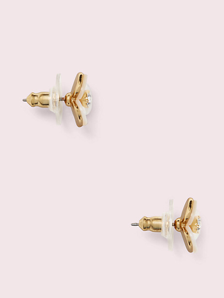 disco pansy studs by kate spade new york