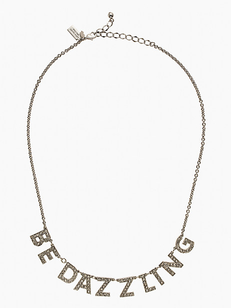 kate spade 'be dazzling' necklace - only $25!