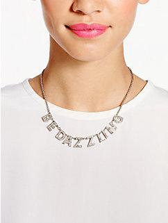 dazzle and delight necklace by kate spade new york