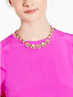 disco pansy single strand short necklace by kate spade new york