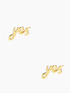 say yes studs by kate spade new york