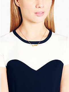 taken necklace by kate spade new york