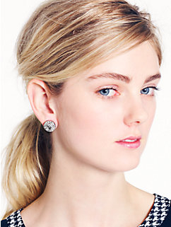 basket pave studs by kate spade new york