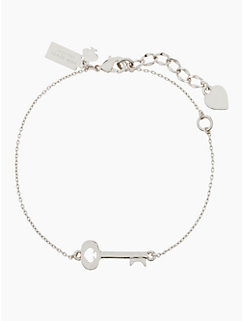 charming key to my heart bracelet by kate spade new york