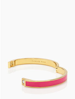 tickled pink idiom bangle by kate spade new york
