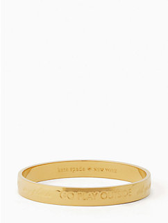 engraved mom idiom bangle by kate spade new york