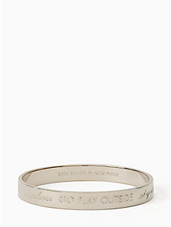 mom idiom bangle - engraved by kate spade new york