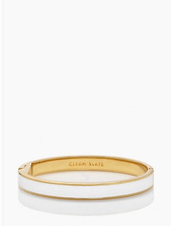clean slate idiom bangle by kate spade new york
