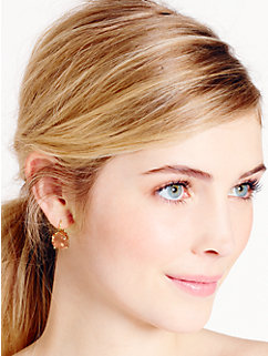 kate spade round leverback earrings by kate spade new york
