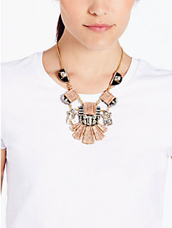 imperial tile statement necklace by kate spade new york