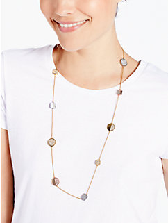light the lanterns scatter necklace by kate spade new york