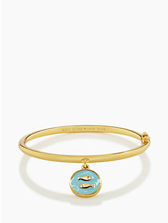 kate spade pisces charm bangle by kate spade new york