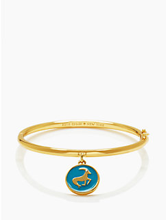 kate spade capricorn charm bangle by kate spade new york
