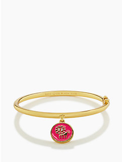 kate spade leo charm bangle by kate spade new york
