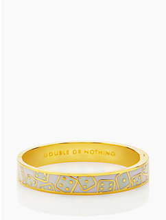 double or nothing idiom bangle by kate spade new york