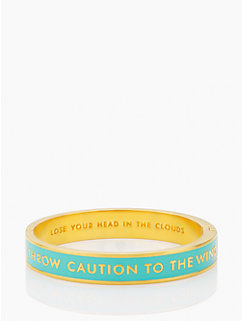 lose your head in the clouds idiom bangle by kate spade new york