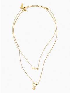 kiss a prince multi pendant by kate spade new york