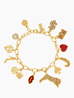 lucky streak charm bracelet by kate spade new york